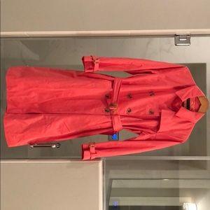 Beautiful coral colored Dana Buchanan jacket.